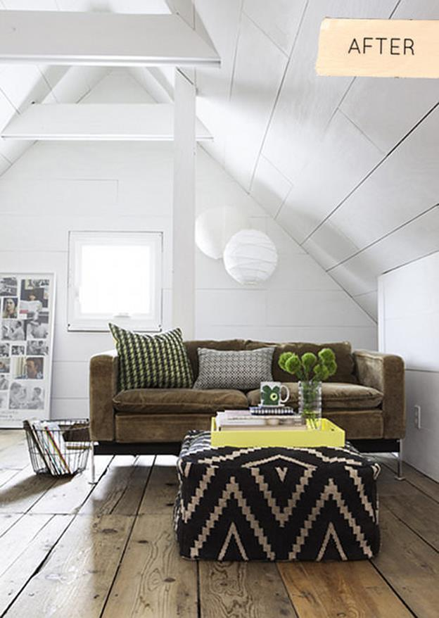 Attic Makeovers Ideas On a Budget 5