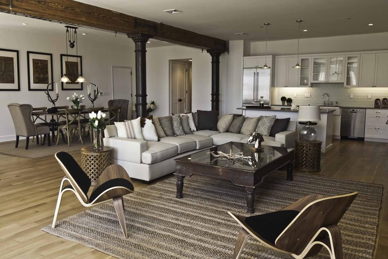 City Chic Living Room Decorating Ideas On a Budget 12