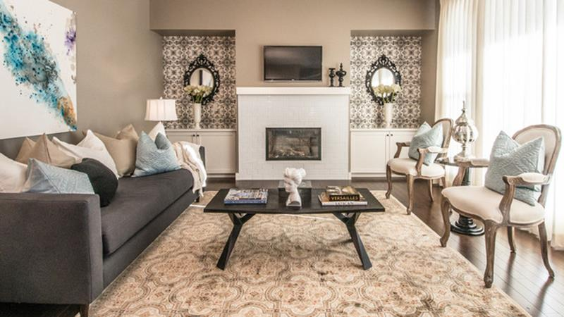 City Chic Living Room Decorating Ideas On a Budget 13