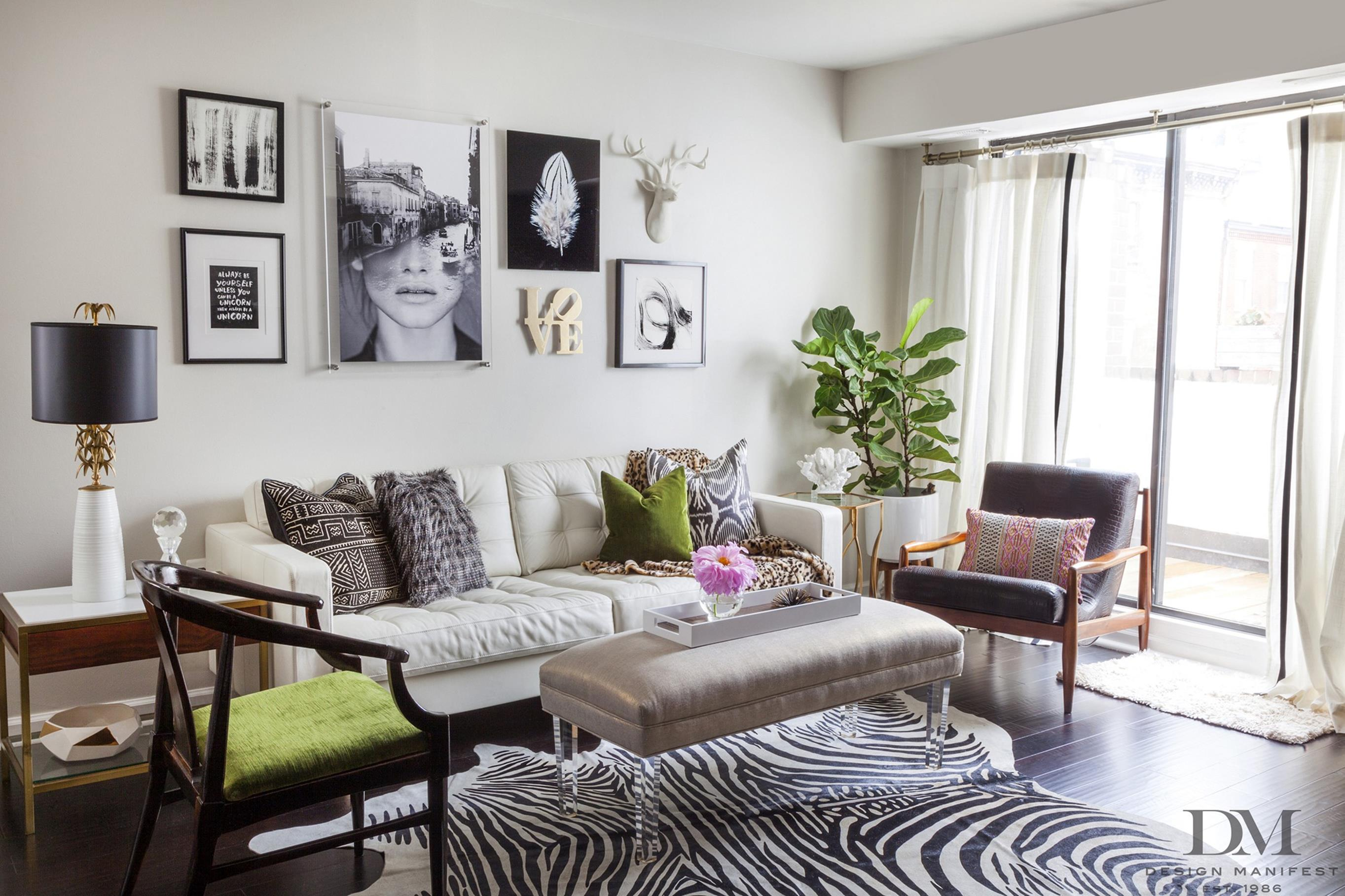 37 Gorgeous City Chic Living Room Decorating Ideas On a ...