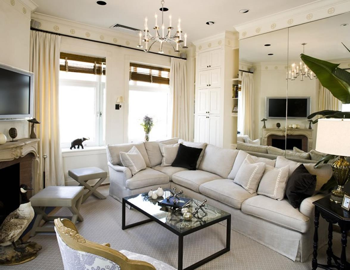 City Chic Living Room Decorating Ideas On a Budget 24