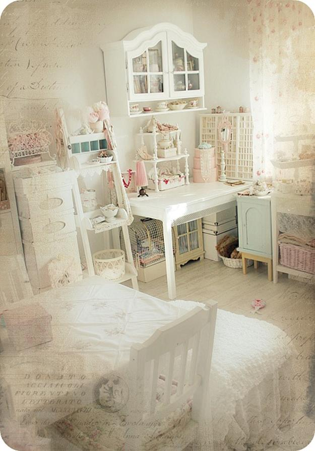 Inexpensive Shabby Chic Craft Table Ideas 32