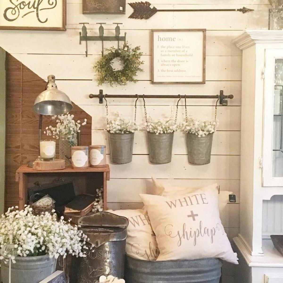 Shabby Chic Kitchen Wall Decorating Ideas 21