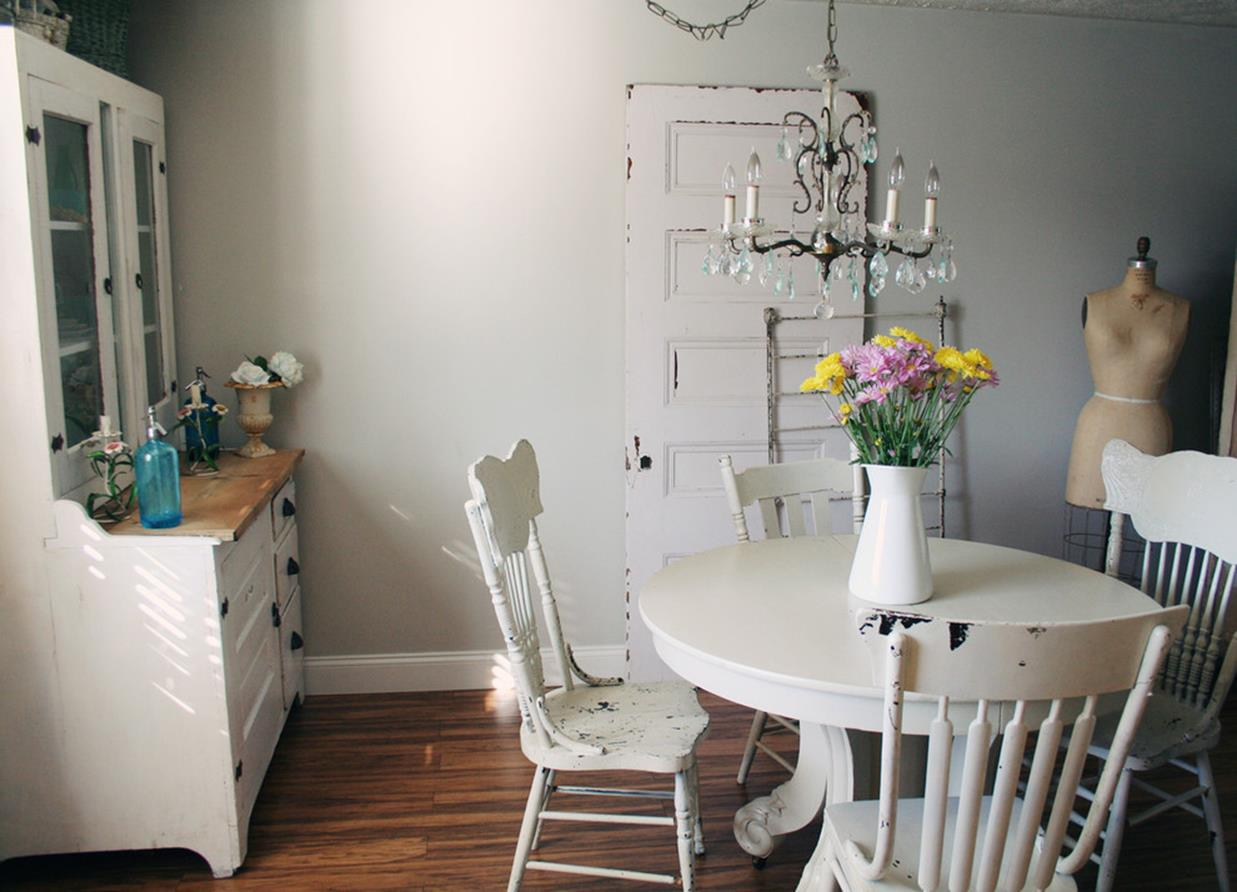 Shabby Chic Kitchen Wall Decorating Ideas 27