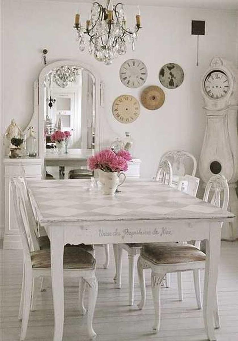 Shabby Chic Kitchen Wall Decorating Ideas 5