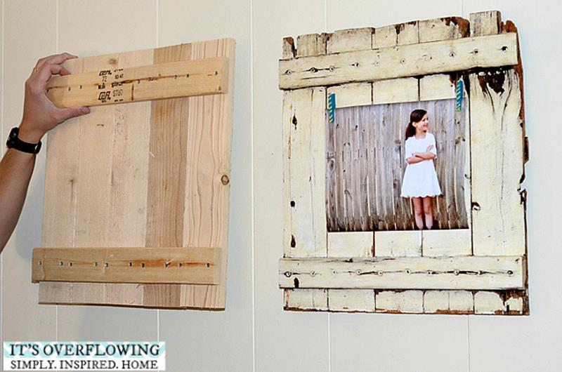 Wooden Picture Frame Decorating Ideas 17