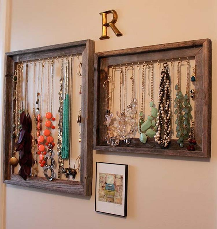 Wooden Picture Frame Decorating Ideas 18