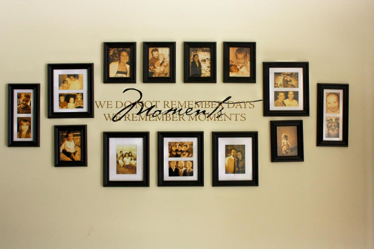 Wooden Picture Frame Decorating Ideas 21