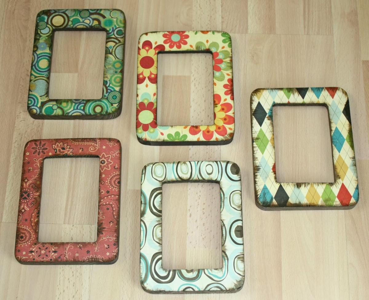 Wooden Picture Frame Decorating Ideas 23