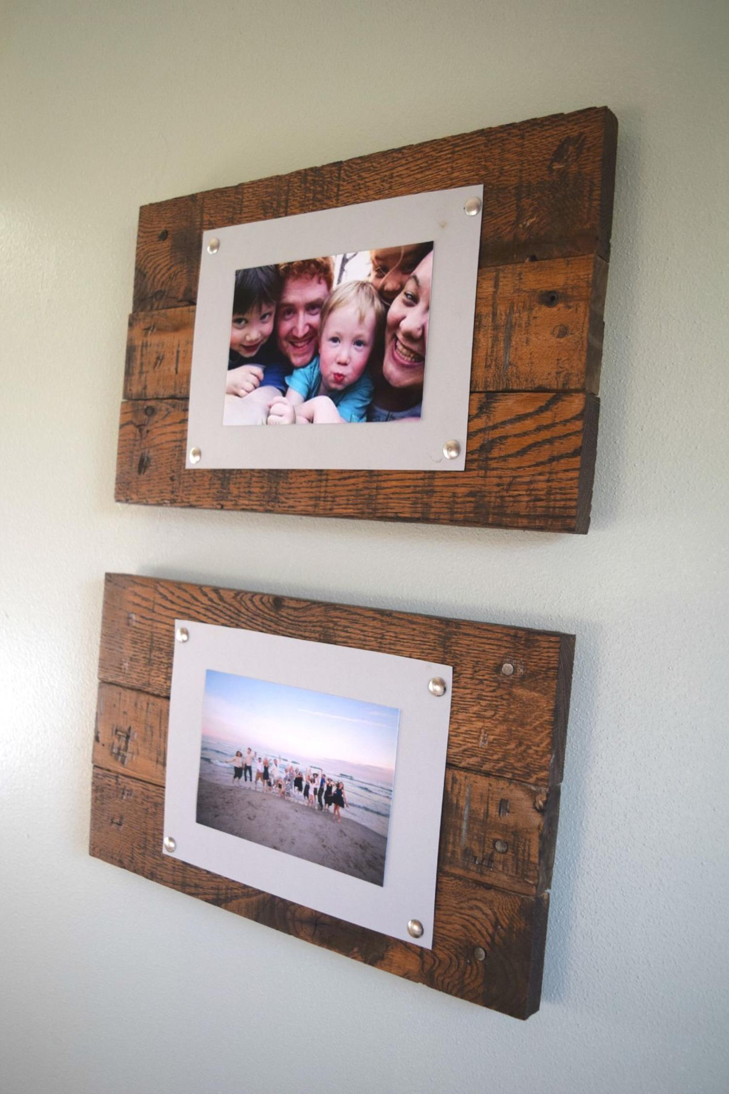 Wooden Picture Frame Decorating Ideas 32