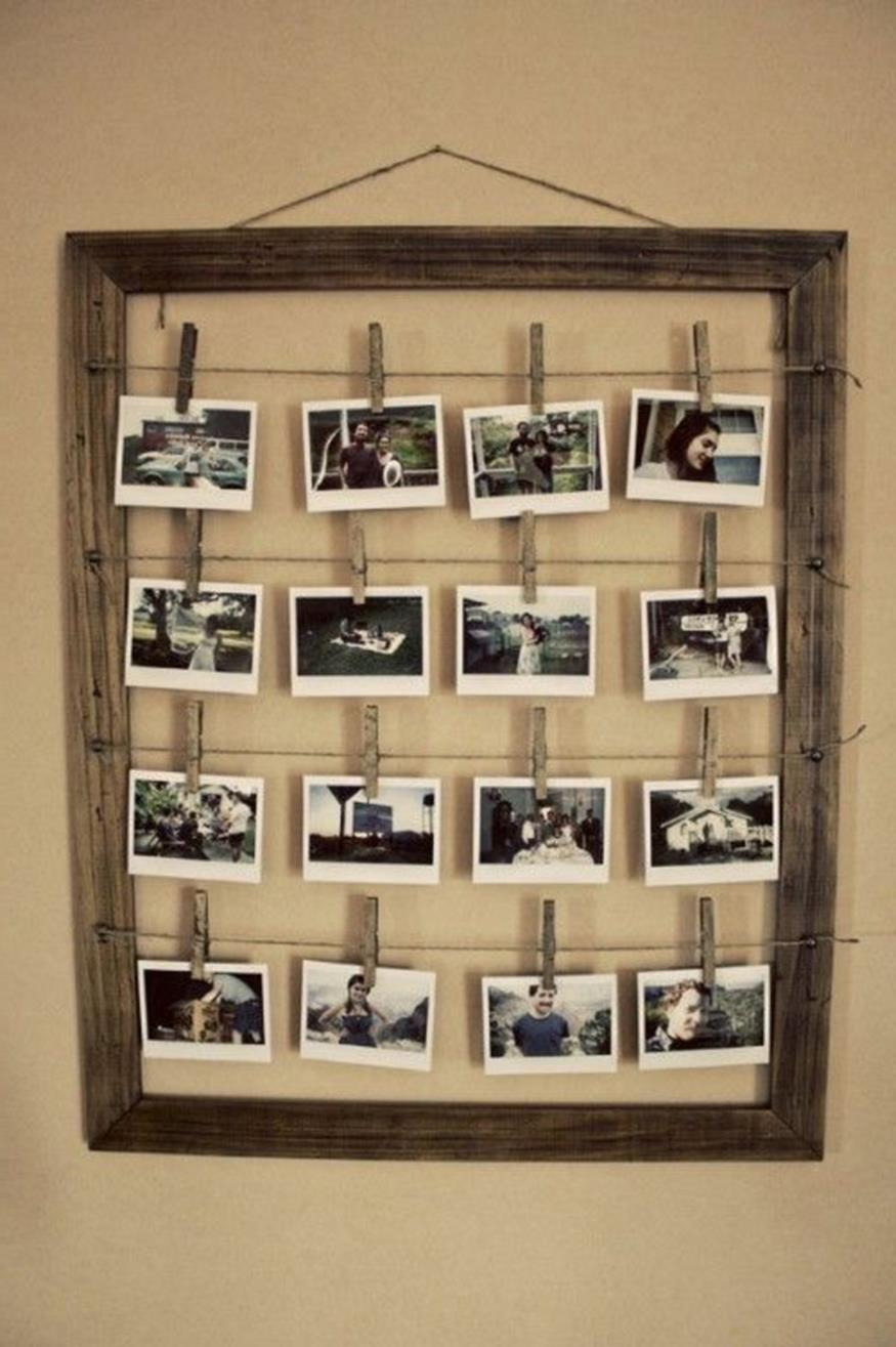 Wooden Picture Frame Decorating Ideas 34