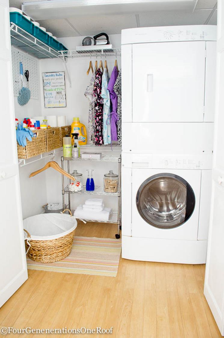 DIY Small Laundry Room Makeovers On a Budget 13