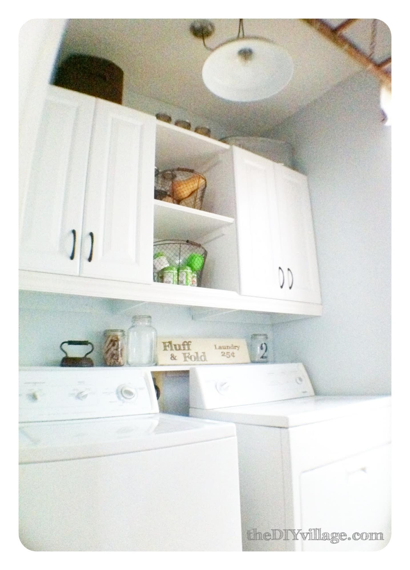 DIY Small Laundry Room Makeovers On a Budget 26