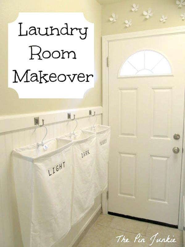 DIY Small Laundry Room Makeovers On a Budget 29