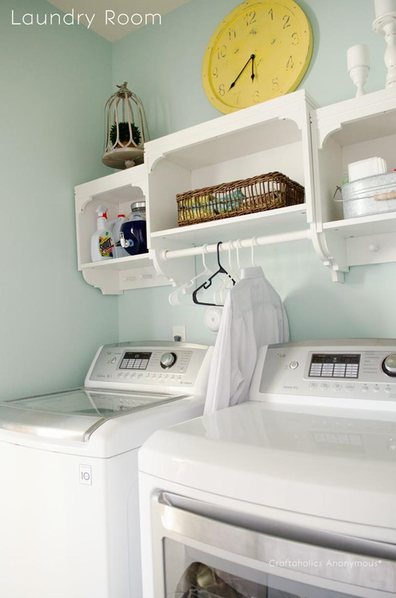 DIY Small Laundry Room Makeovers On a Budget 3