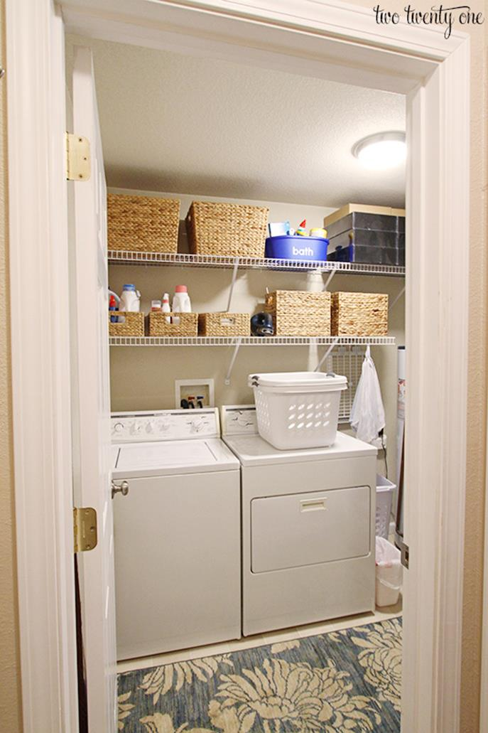 DIY Small Laundry Room Makeovers On a Budget 30