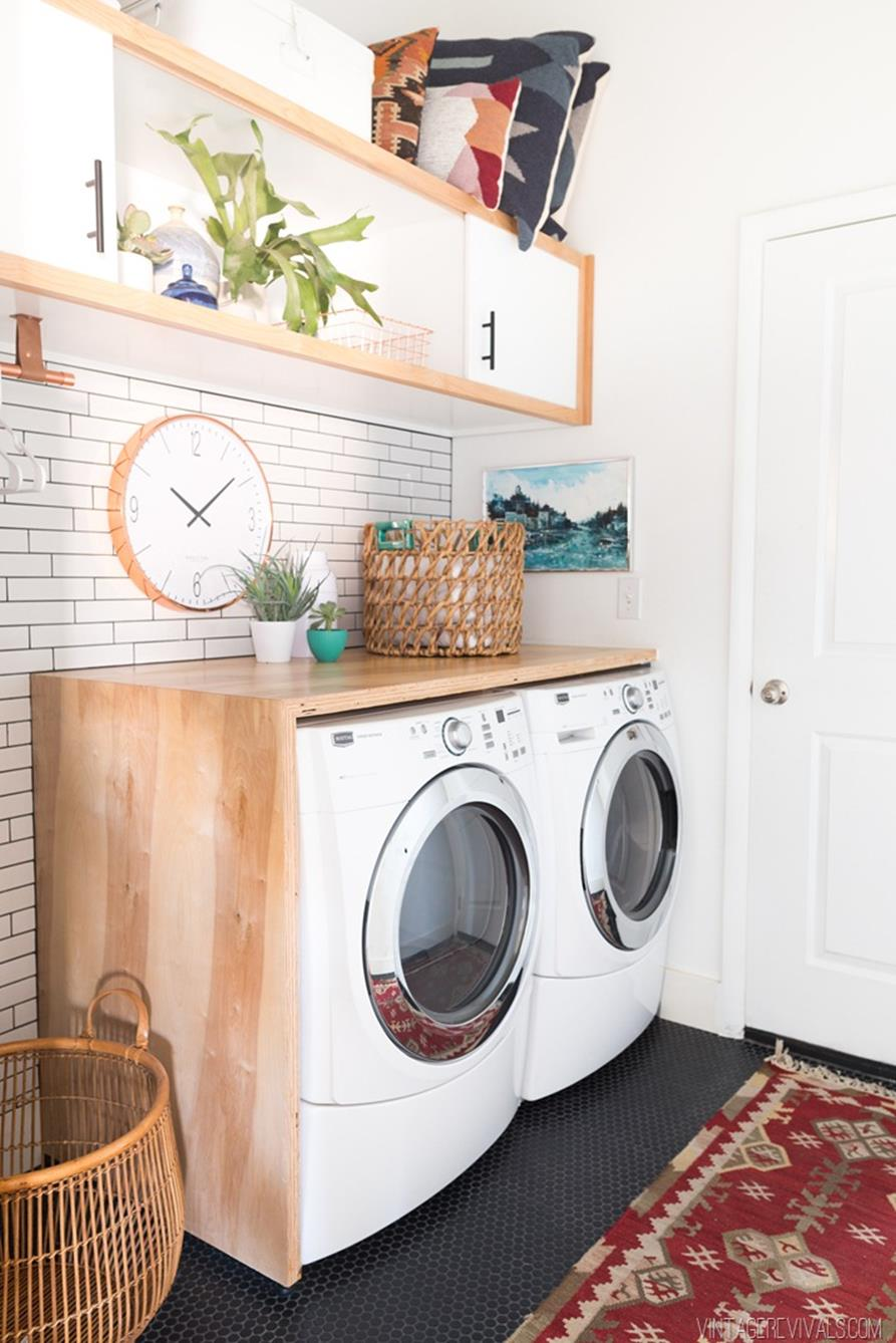 DIY Small Laundry Room Makeovers On a Budget 32