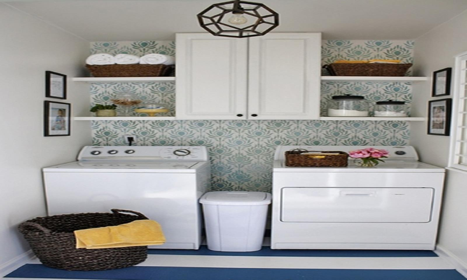 DIY Small Laundry Room Makeovers On a Budget 35