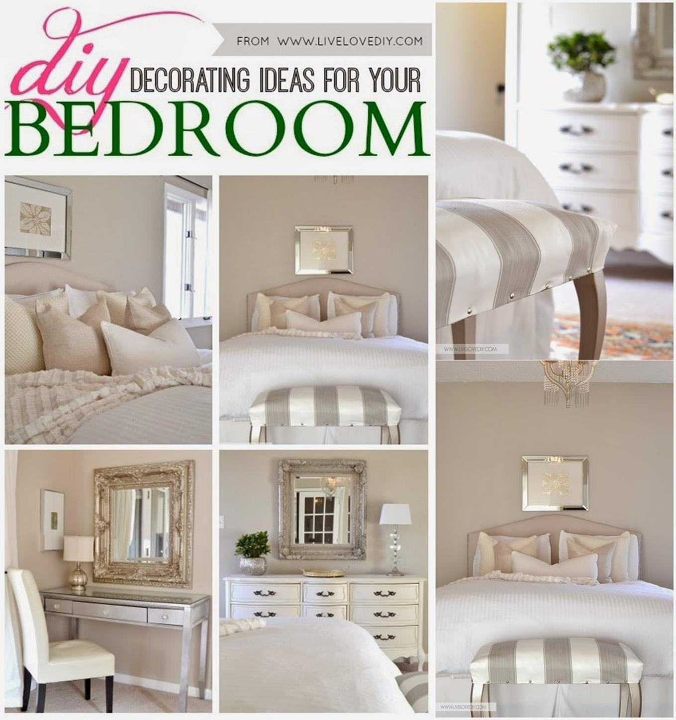 20 Decorating Tricks For Your Bedroom: Perfect Bedroom Decorating Idea For Craft 20