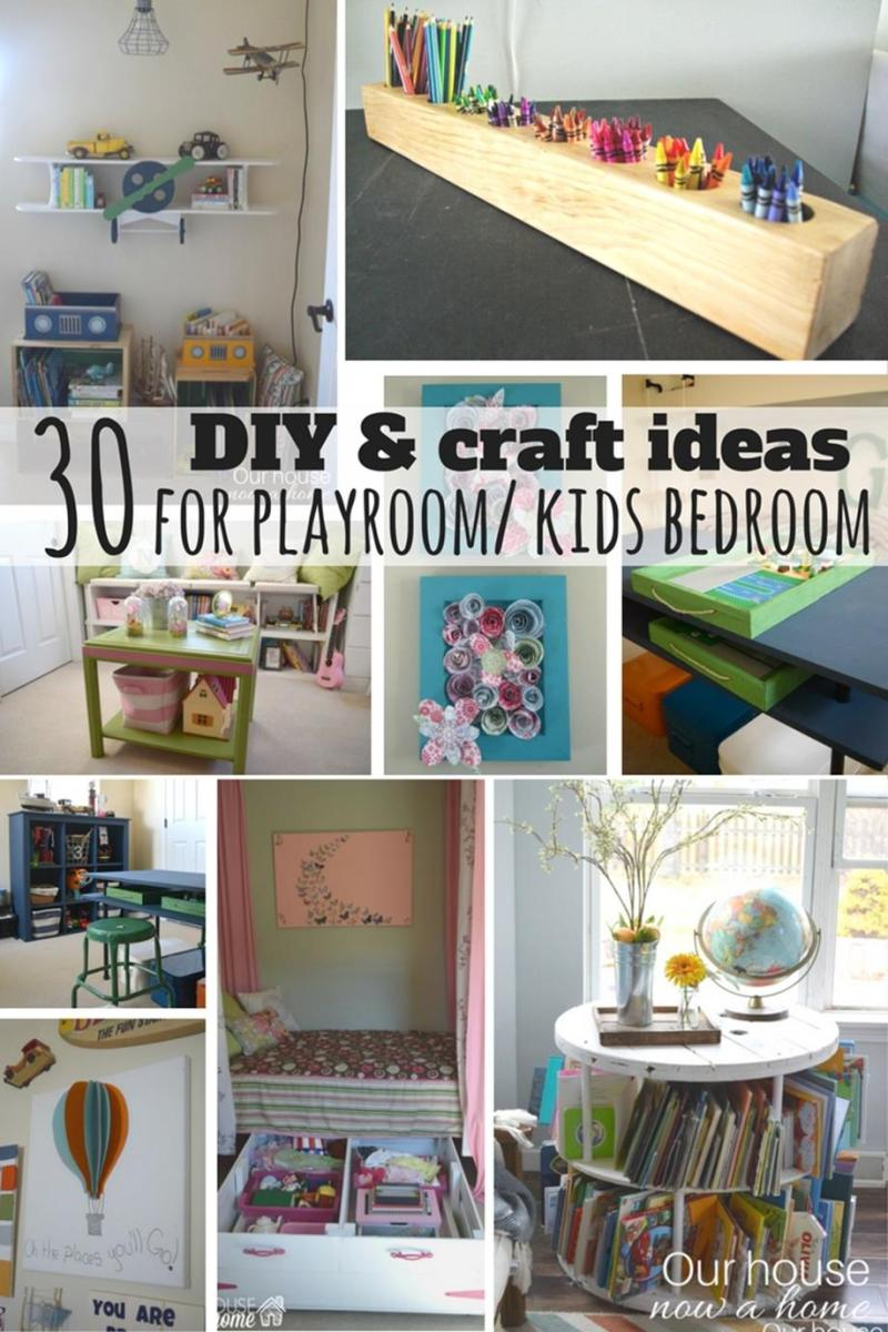 Perfect Bedroom Decorating Idea for Craft 43