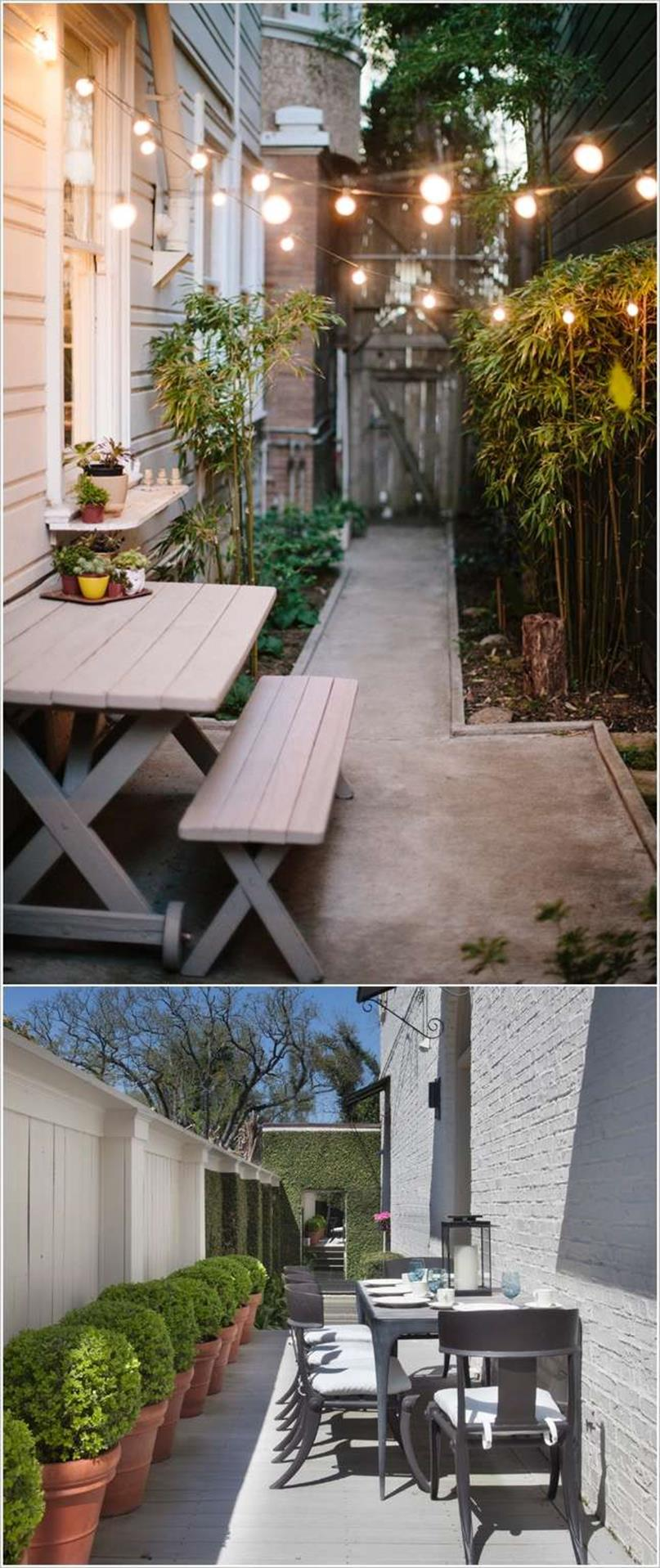 Perfect Small Outdoor Spaces Design Ideas 3