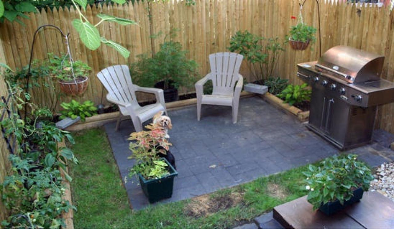 Perfect Small Outdoor Spaces Design Ideas 35
