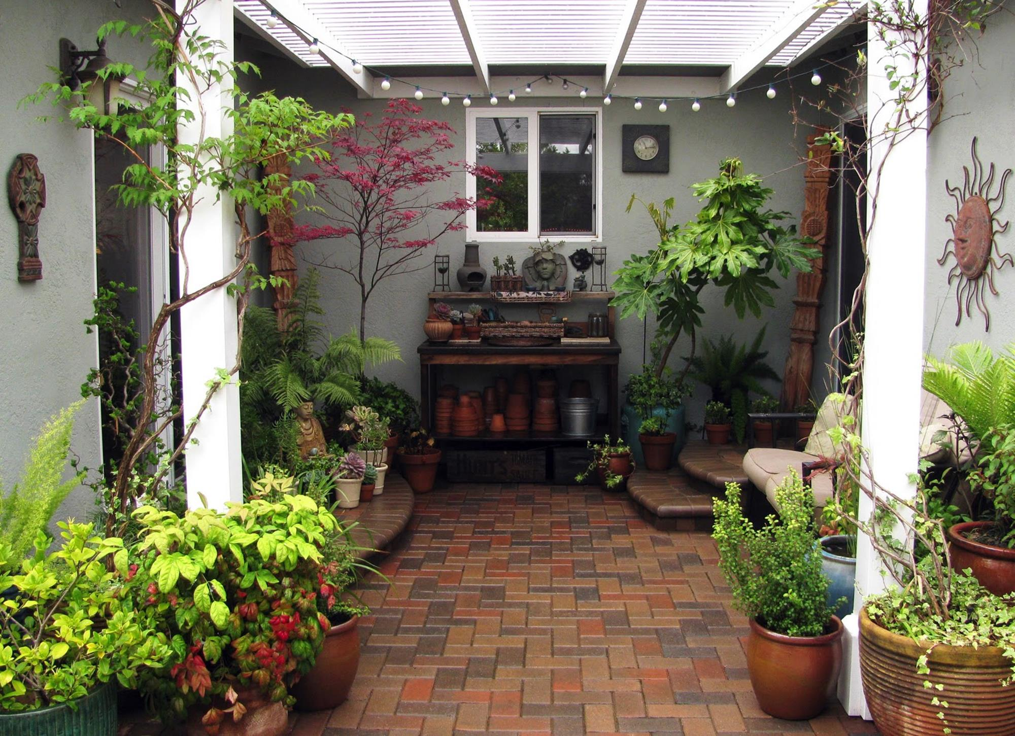 Perfect Small Outdoor Spaces Design Ideas 4