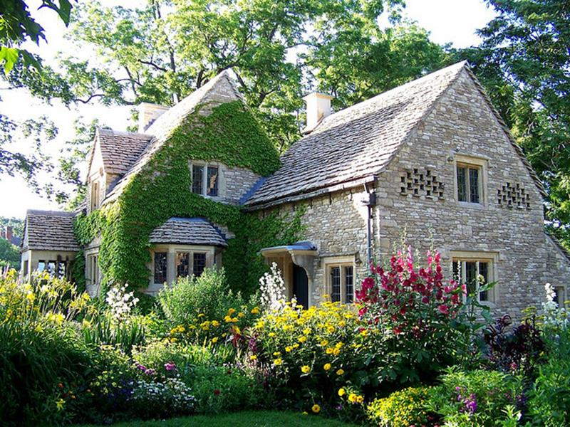 Stunning Country Cottage Gardens Ideas 33