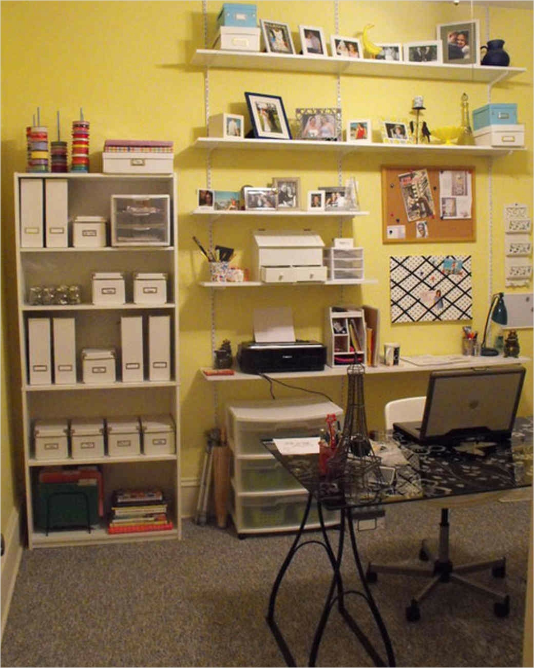 Craft Room Wall Shelving 69 Your Most Creative Crafts Rooms 8