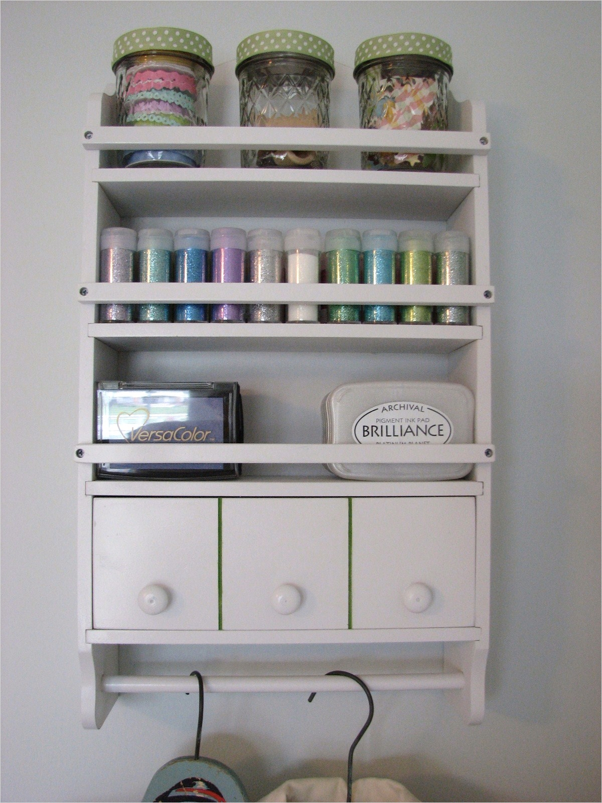 Craft Room Wall Shelving 31 Craft Room Shelves Part 2 Clean Mama 3
