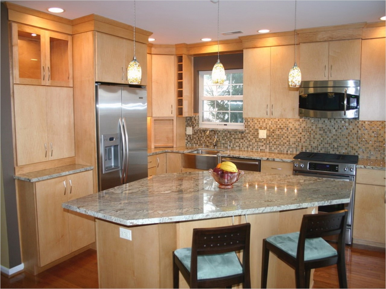 44 Perfect Ideas Small Kitchen Designs with islands 99 Best Small Kitchen Design with island for Perfect Arrangement 8