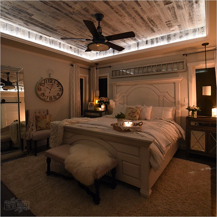 43 Stunning Country Farmhouse Bedroom Ideas 16 Our Modern French Country Master Bedroom – E Room Challenge Reveal 8