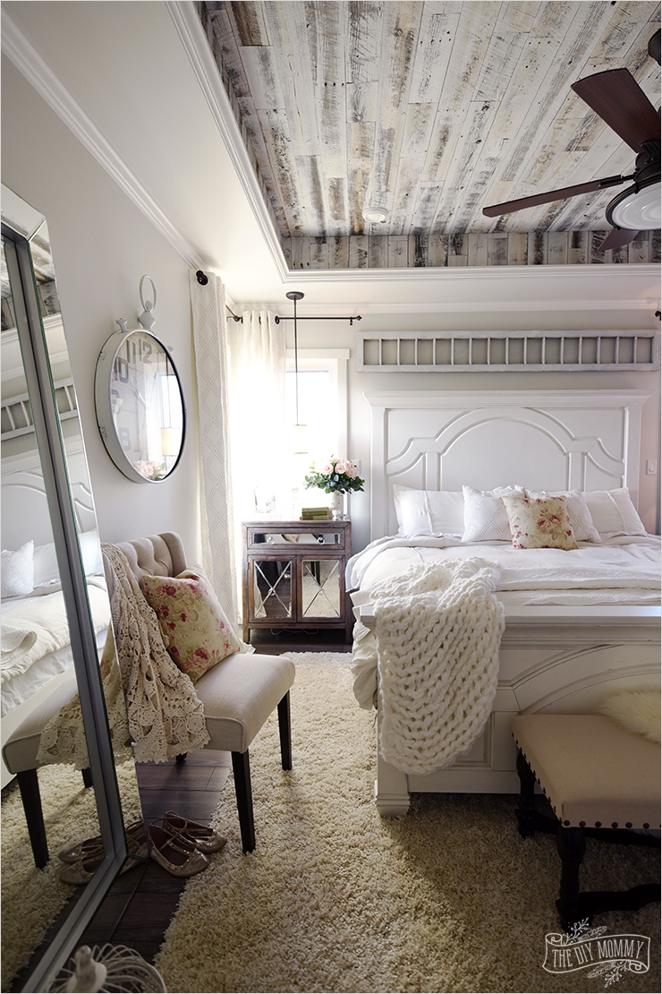 43 Stunning Country Farmhouse Bedroom Ideas 63 Our Modern French Country Master Bedroom – E Room Challenge Reveal 5