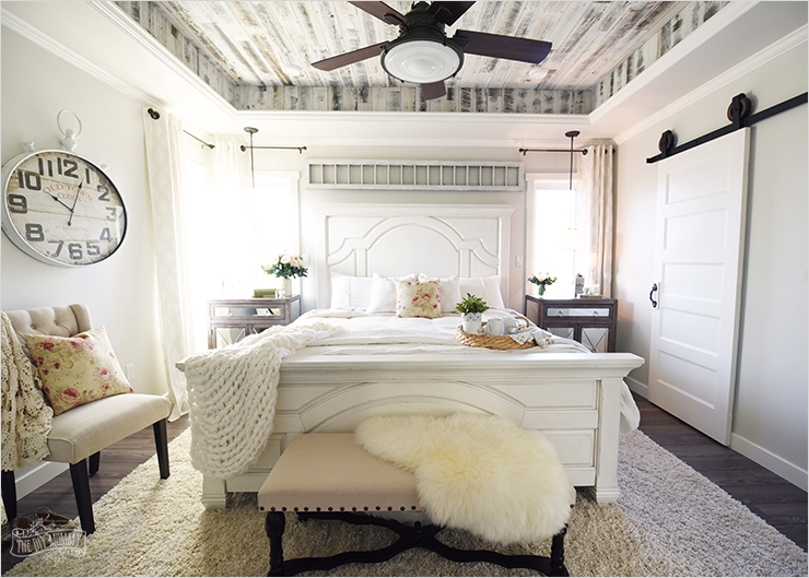 43 Stunning Country Farmhouse Bedroom Ideas 92 Our Modern French Country Master Bedroom – E Room Challenge Reveal 6