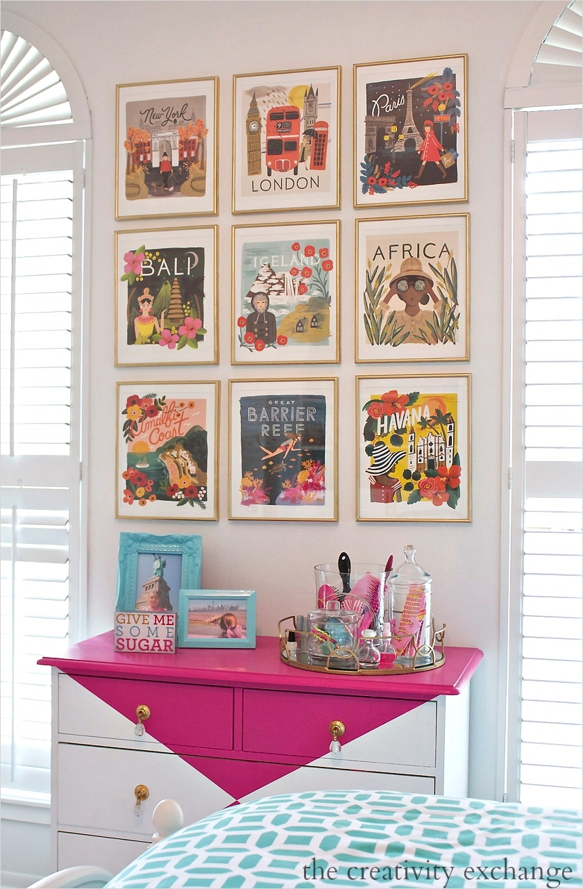 42 Amazing Diy Craft Room Gallery Wall 51 2016 Rifle Paper Co Frameable Calendars and Gallery Wall 3