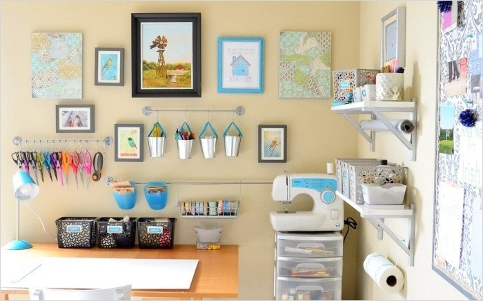 42 Amazing Diy Craft Room Gallery Wall 18 A Prudent Life Inspiration for Your Home & Life 8