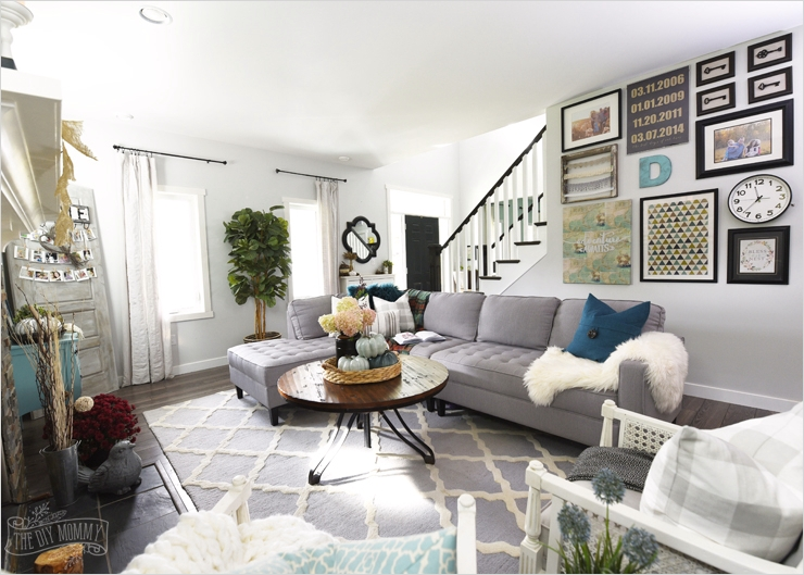 42 Cozy Country Farmhouse Living Room 46 My Home Style before and after Modern Boho Country Living Room 9
