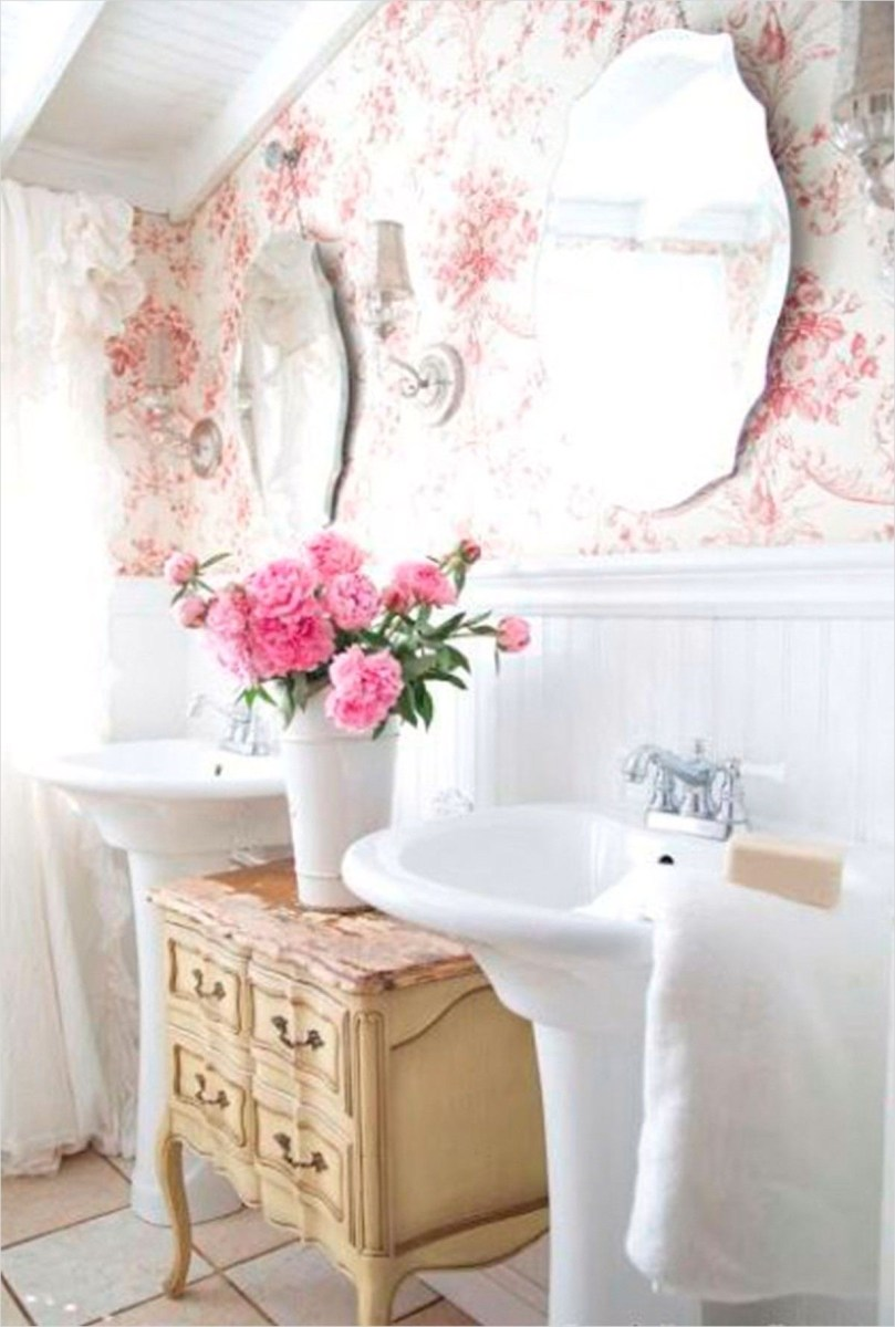 40 Stunning French Country Small Bathroom 71 Pin by Ideas to Decor On Bathroom Appliance Pinterest 9