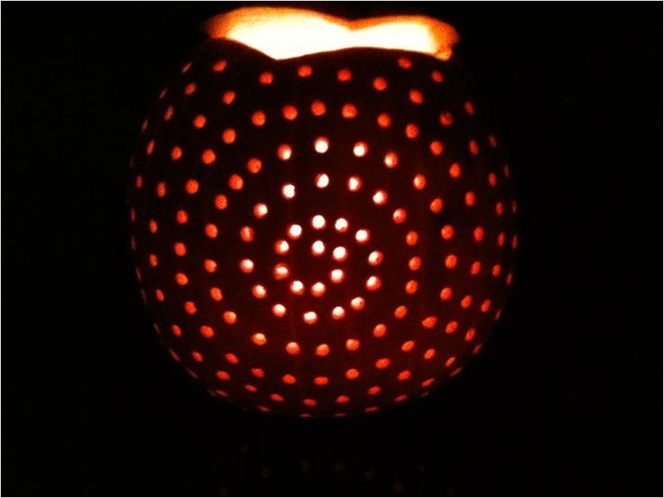 40 Simple Pumpkin Carving with Drill Ideas 62 Pumpkins Carved with Drill the Husbands Will Love This 4
