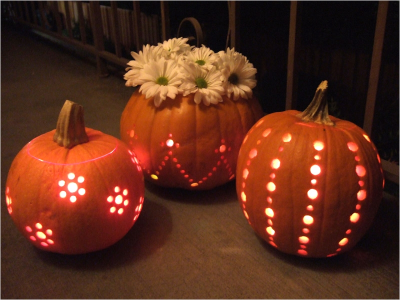 40 Simple Pumpkin Carving with Drill Ideas 48 10 Creative Pumpkin Carving Ideas 6