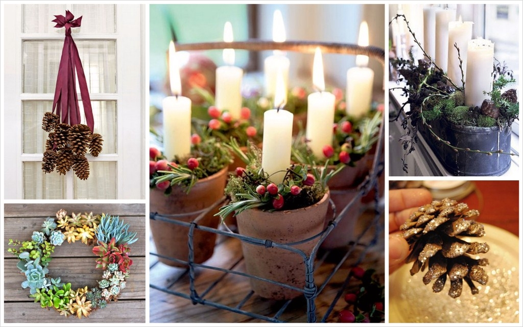 42 Stunning Country Christmas Centerpieces Ideas Ideas 47 Country Christmas Décor 5
