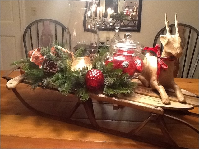 42 Stunning Country Christmas Centerpieces Ideas Ideas 12 Christmas Open House Holiday Decorating Traditional Dining Room Boston by New England 2