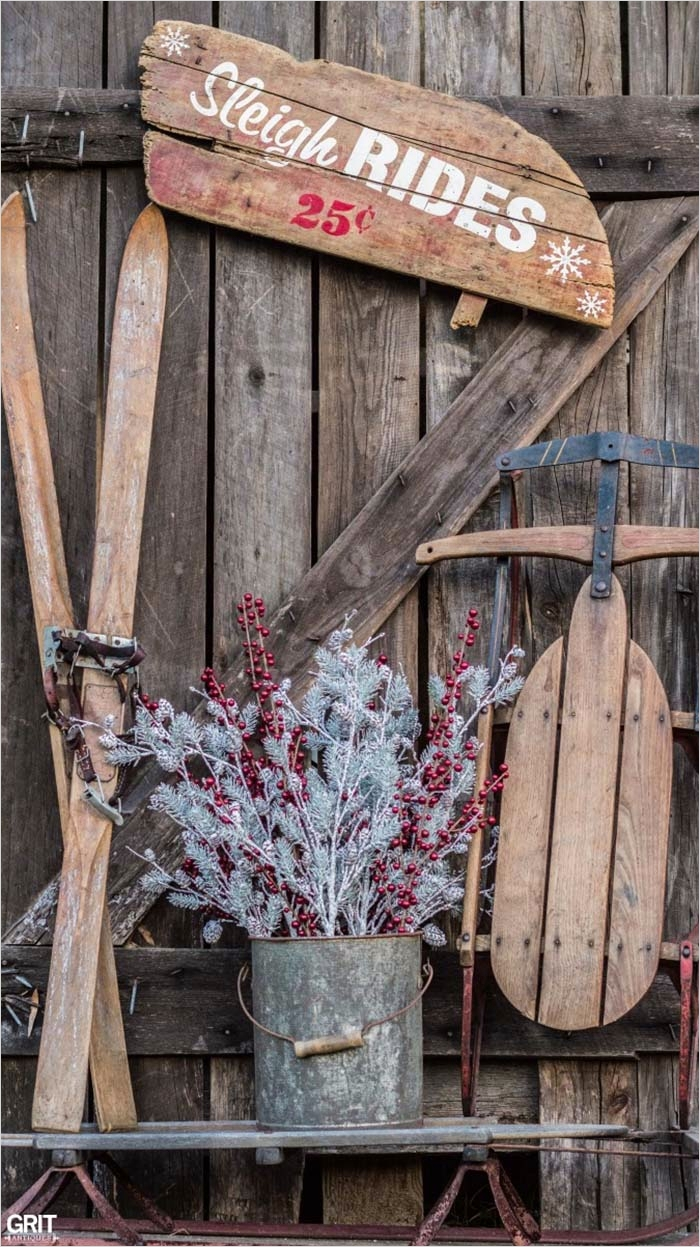 42 Stunning Country Christmas Centerpieces Ideas Ideas 88 40 Fabulous Rustic Country Christmas Decorating Ideas 7