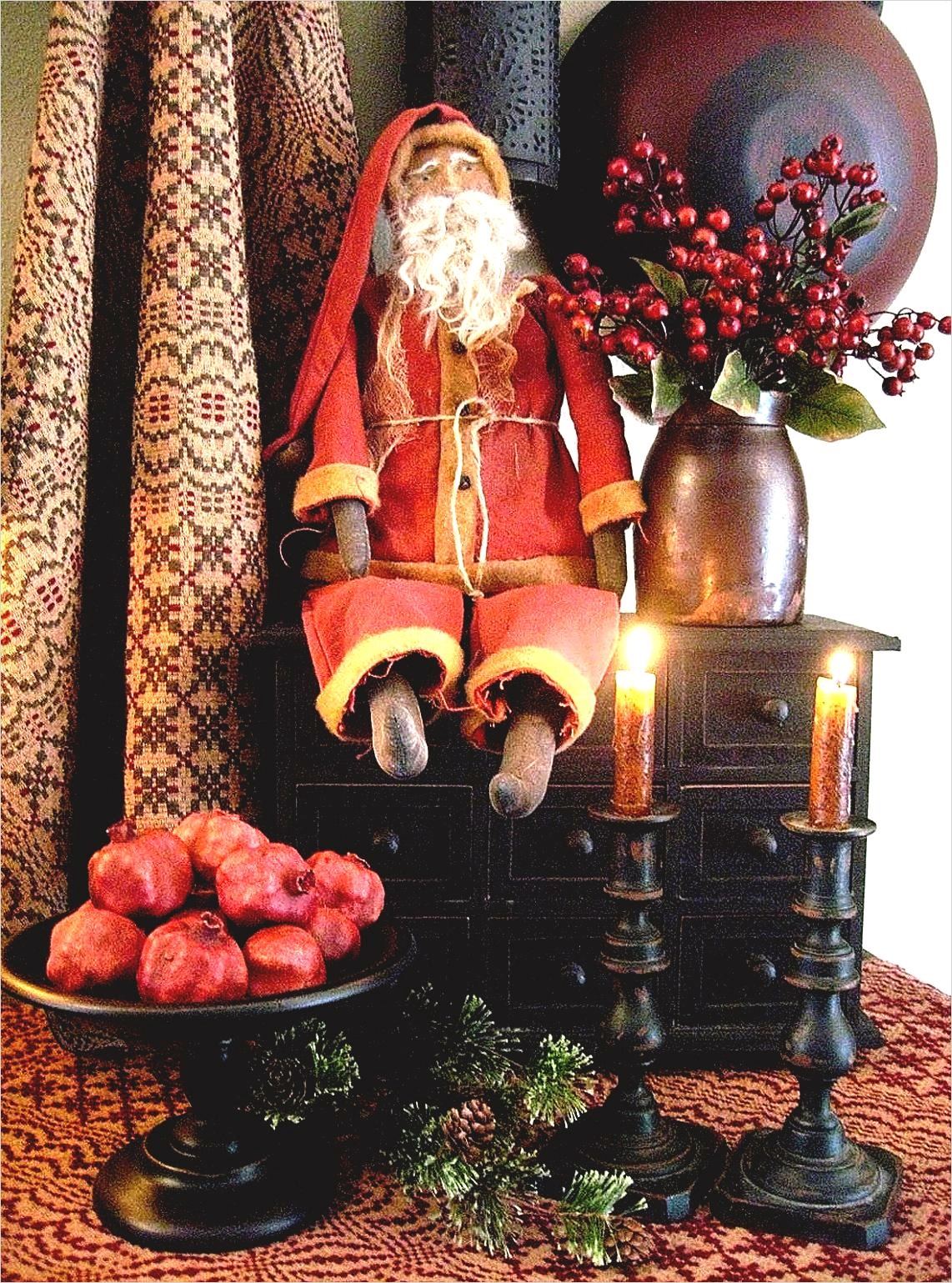 42 Stunning Country Christmas Centerpieces Ideas Ideas 47 astounding Primitive Country Home Decor for Traditional House Goodhomez 3