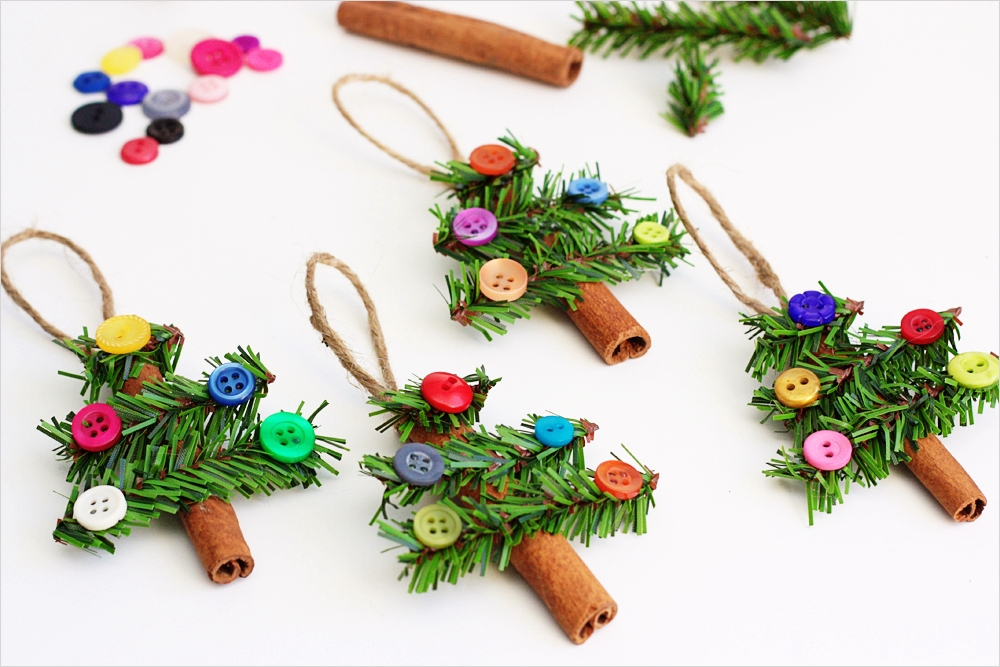 40 Diy Easy Christmas ornament Crafts Ideas 49 Fab Ideas On button Crafts for Christmas Decorations 6