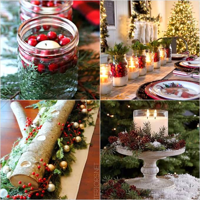 41 Adorable Christmas Table Centerpiece Ideas 2018 94