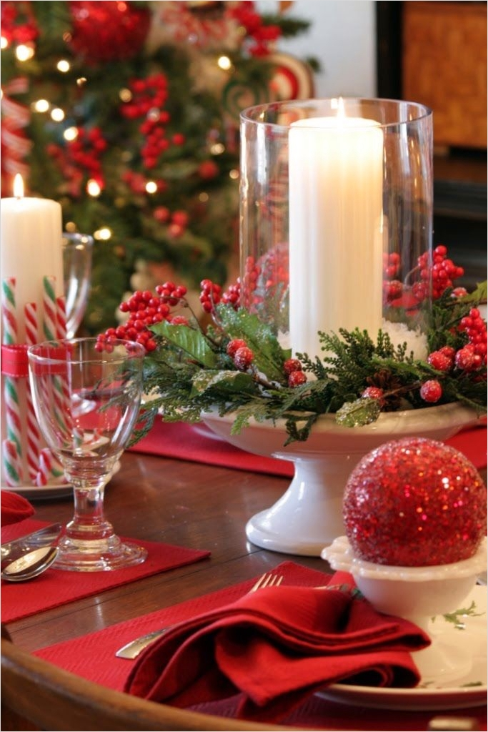41 Adorable Christmas Table Centerpiece Ideas 2018 74