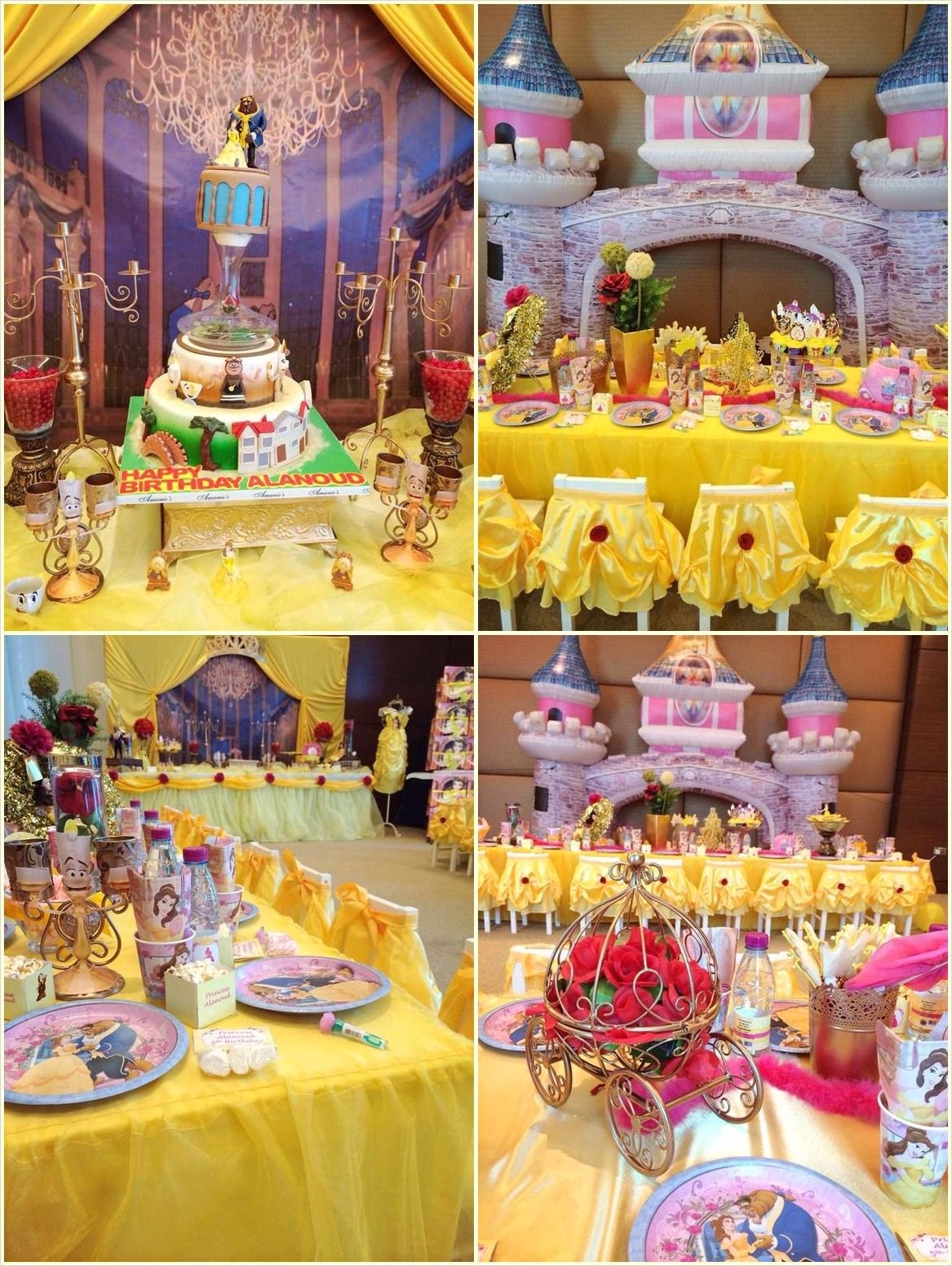 35 Beauty and the Beast Decorations Ideas 32