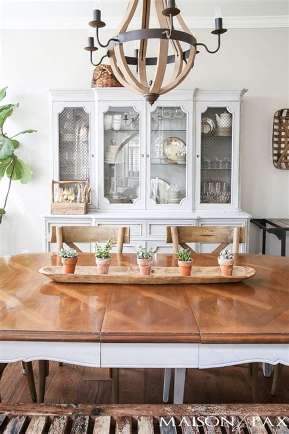 35 Stunning Spring Kitchen and Dining Room Decorating Ideas 2019 20