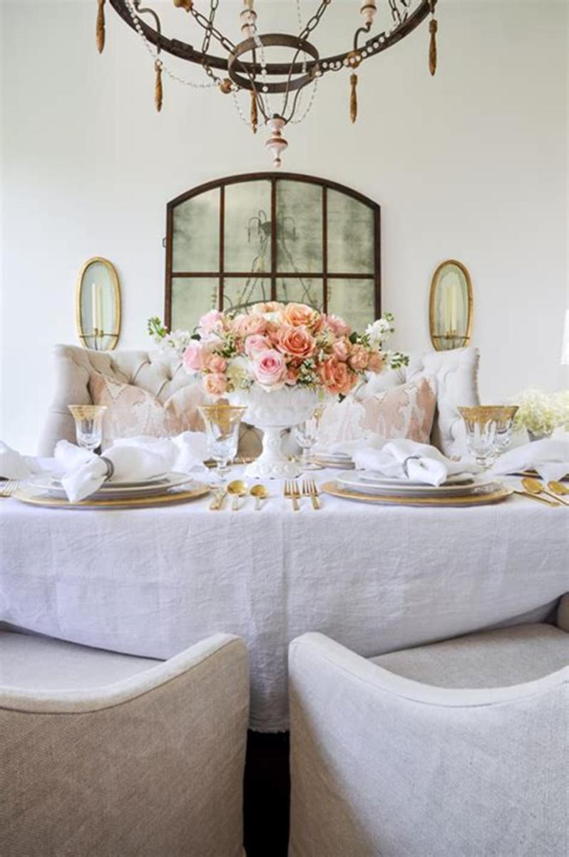 35 Stunning Spring Kitchen and Dining Room Decorating Ideas 2019 21